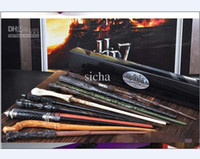 Wholesale Harry Potter Deluxe - US free shipping Deluxe Harry Potter Hogwarts Magic Magical Wand Wizard