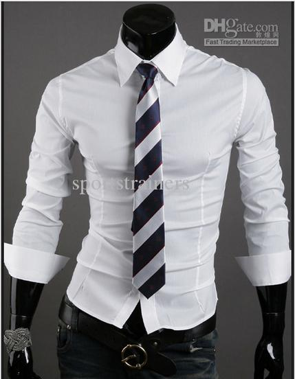 Styles of dress shirts
