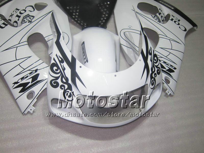 White corna fairing FOR 1996 - 2000 suzuki SRAD fairings GSXR600 GSXR750 GSXR 600 750 96 97 98 99 00 96-00