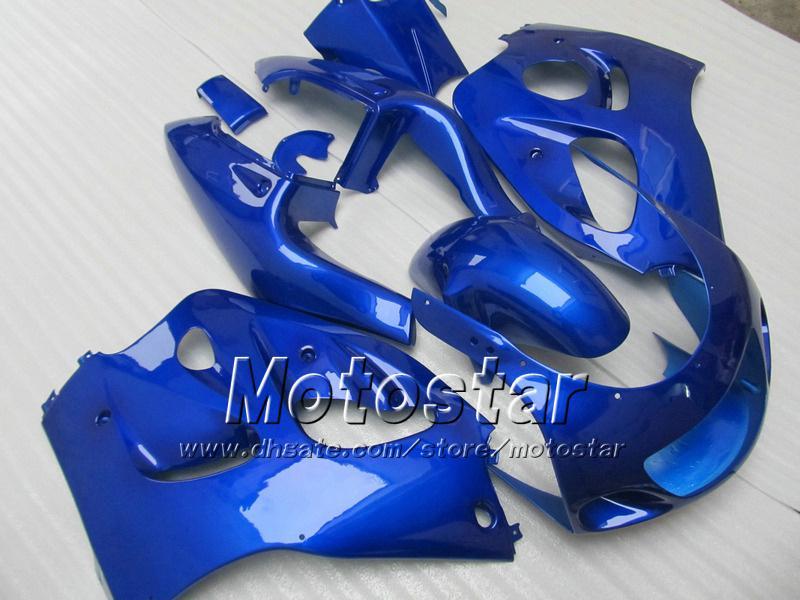 PURE BLUE FAIRING FÖR SUZUKI GSXR600 SRAD FAININGS GSXR750 GSXR 600 750 1996 1997 1998 1999 2000 GSX-R 96 97 99 00 Fairings