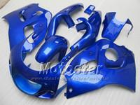 carenado para 97 gsx al por mayor-Pure Blue Fairing PARA SUZUKI GSXR600 SRAD carenados GSXR750 GSXR 600 750 1996 1997 1998 1999 2000 GSX-R 96 97 99 00 carenados