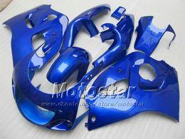 Le scarpe blu di srad online-Carenatura Pure Blue PER SUZUKI GSXR600 Carene SRAD GSXR750 GSXR 600 750 1996 1997 1998 1998 1999 2000 GSX-R 96 97 99 00 carenature