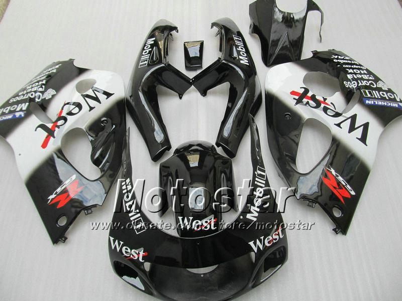 Carénages moto West personnalisés UU71 POUR 1996 1997 1998 1999 2000 suzuki GSXR600 GSXR750 GSXR 600 750 96 97 98 99 00 96-00