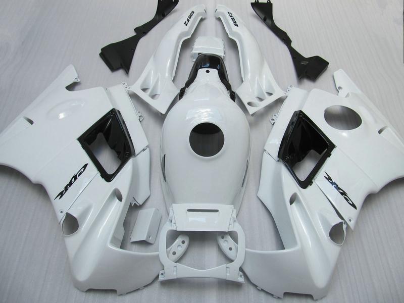 7 Carenados de regalos para Honda CBR600 F2 1991 1992 1993 1994 CBR 600F CBR600F2 91 92 93 94 carenados blancos personalizados ac43