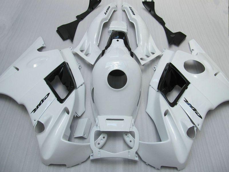 7 Gifts fairings set for Honda CBR600 F2 1991 1992 1993 1994 CBR 600F CBR600F2 91 92 93 94 custom white fairings ac43