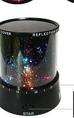 Cosmo colorato stelle proiettore laser-LED Star proiettore lampada LED luce notturna lanterna regalo romantico