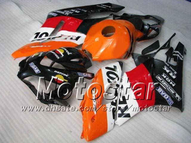 H1401 REPSOL 혼다 CBR1000RR 2004 년형 사출 성형 페어링 ABS ABS 페어링 키트 CBR1000 RR CBR 1000RR 04 05 전체 공정 키트