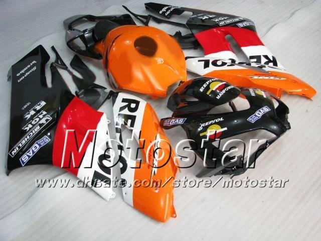 H1401 Repsol Injektionsformfear för Honda CBR1000RR 2004 2005 ABS Fairing Kit CBR1000 RR CBR 1000RR 04 05 Full Fairing Kit