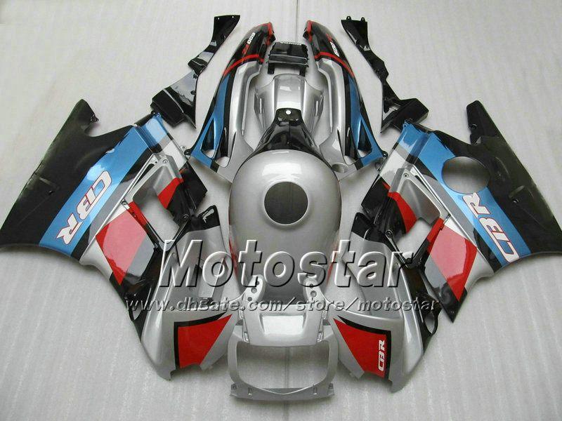 Rot silber ABS Verkleidung Kit für Honda CBR 600 f2 1991 1992 1993 1994 CBR600 F2 91 92 94 CBR 600F2 Verkleidungen # H2172