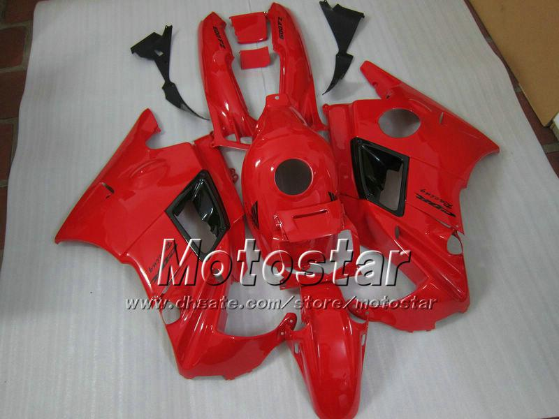Whole Red ABS Fairing for SUZUKI CBR600 F2 1991 1992 1993 1994 CBR600F2 91 92 93 94 CBR F2 fairings #H2122