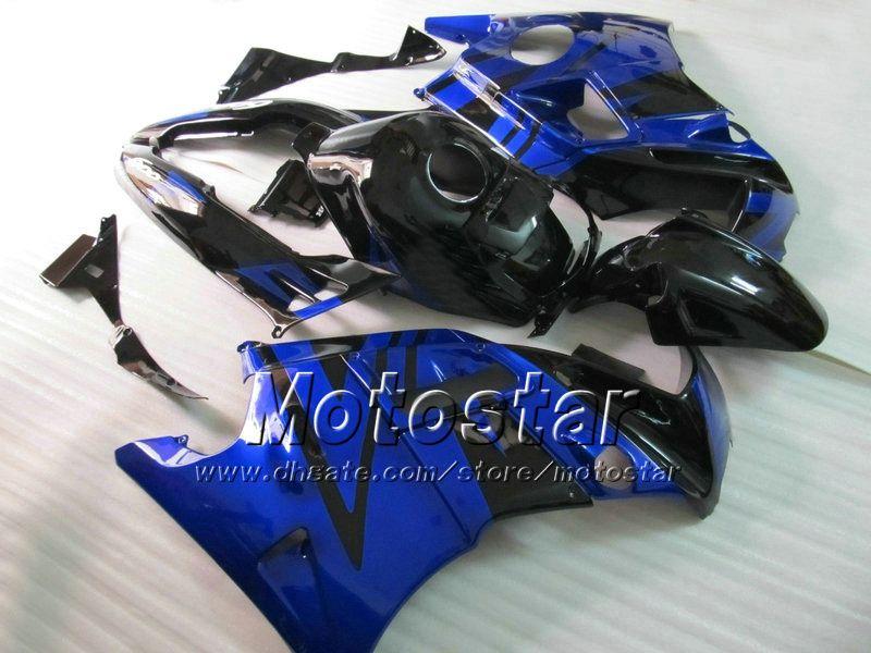 Blue/Black ABS bodywork Fairing kit for Honda CBR600 F2 1991 1994 CBR 600 CBR600F 91 92 93 94 custom fairings cbr 600f2 #H2156