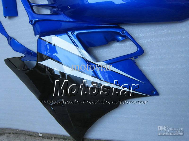 Carenados de motos para HONDA CBR600 F2 91 92 93 94 CBR600F2 1991 1992 1993 1994 CBR 600 carenados personalizados azul brillante conjunto UU30