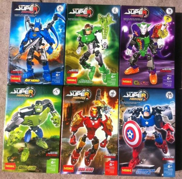 super hros decool iron man hulk batman captain america the avengers bloc