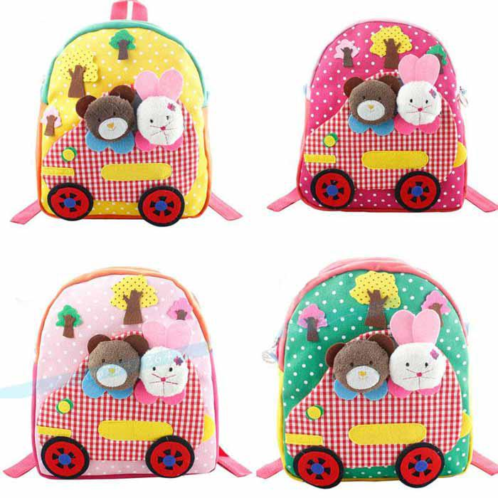Wholesale Children Backpacks Baby Kids Handmade Cartoon