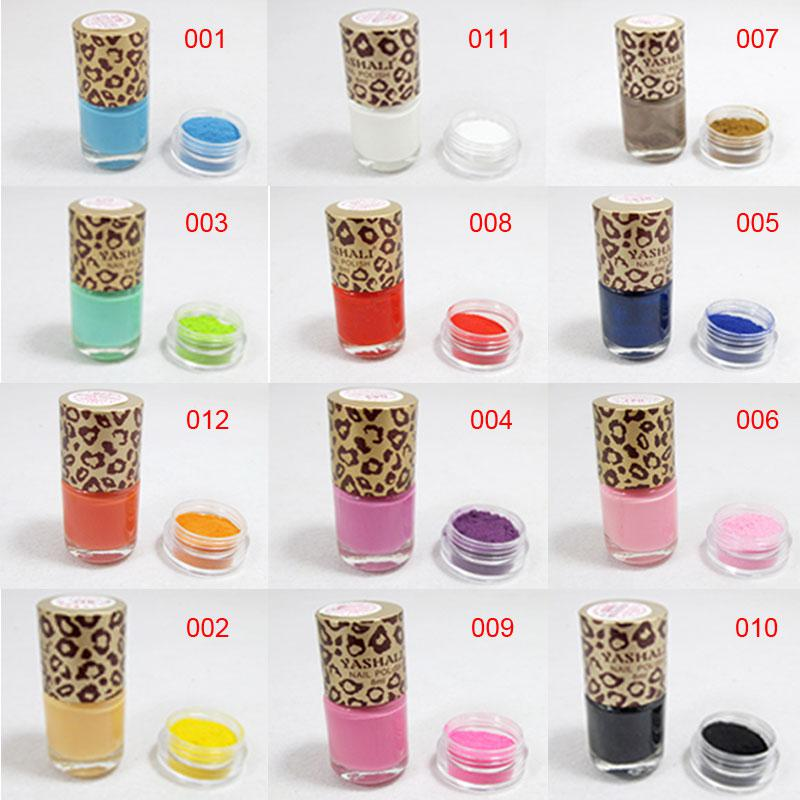 2013 Velvet Powder Nail Art Set Finger Accessories Nail Art Supplies ...