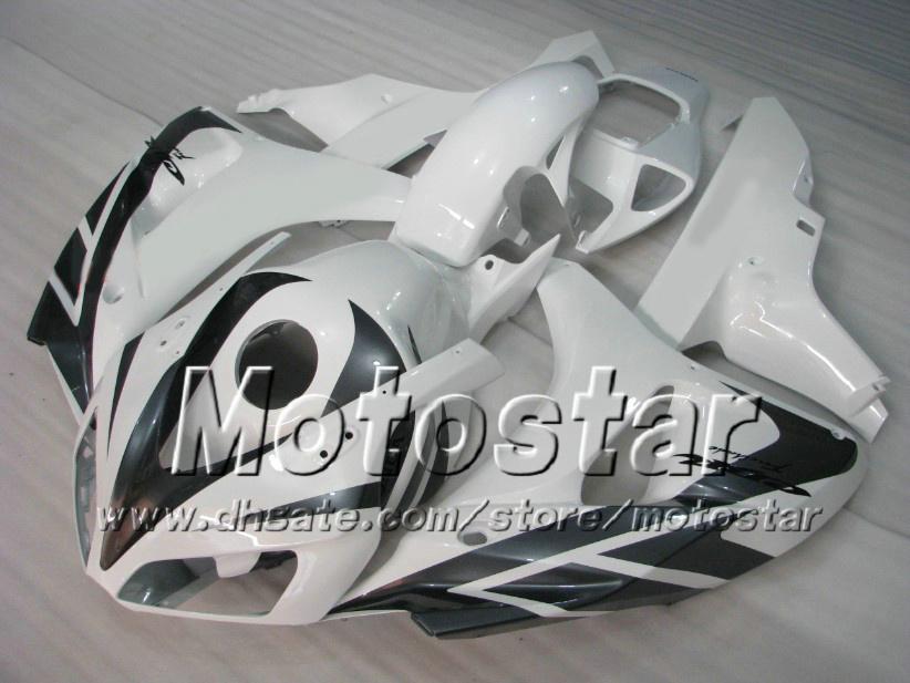 7Gifts Road Racing Fairing Kit voor Honda CBR1000RR 06 07 CBR 1000RR 2006 2007 Glanzende witte kluizen instellen AD72