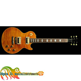 Wholesale Electric Guitar Slash - Holiday sale Custom shop slash Electric Guitar IN yellow 48 hours delivery wholesale guitars from china 48 hours delivery free shipping