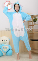 Wholesale Elephant Adult Pajamas - New S M L XL Adult Unisex Animal Lovely Cosplay Elephant Pajamas Sleepsuit Onesie Sleepwear Kigurumi