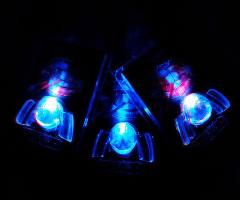 Новый Хэллоуин игрушки подарок странный новый светодиодный светоизлучающий зуб игрушки светящиеся брекеты светящиеся зубы