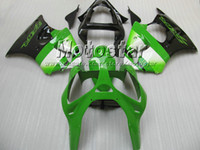Wholesale kawasaki ninja 636 fairing parts - Lime green fairing kit FOR kawasaki ninja ZX6R 636 00 01 02 ZX-6R 2000 2001 2002 ZX 6R zx-6 fairings parts