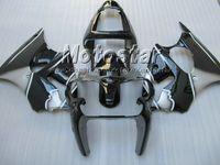 Wholesale Kawasaki Ninja Zx6r Gray - Black Gray Fairing Kit FOR KAWASAKI Ninja ZX6R 636 00-02 ZX-6R 00 01 02 ZX 6R 2000 2001 2002 ZX-6