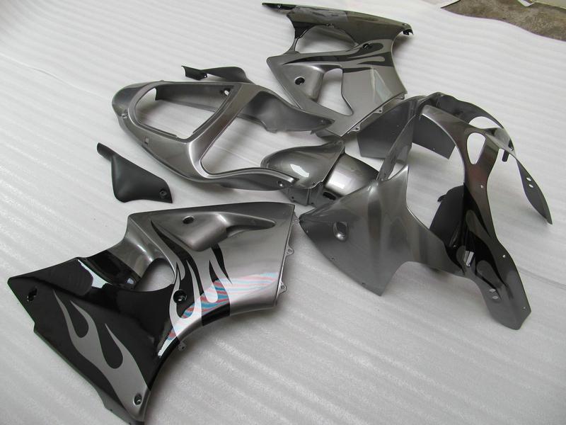 ABS Plastic Fairings Kit Kawasaki 2005 2006 2007 2008 ZZR600 ZZR 600 05 07 08 Kit carenatura full set completo