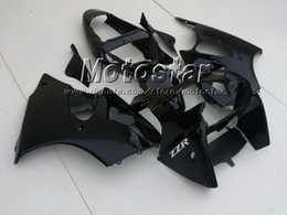Wholesale Matte glossy Black fairing kit FOR KAWASAKI ZZR600 ZZR injection mold fairings