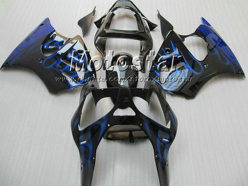 Kawasaki 2005 2006 2007 2007 2008 ZZR600 05 06 07 08射出成形ABSフェアリング無料カスタマイズ