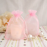 "Wholesale Box 15cm - 17 colors Pick--100pcs Sheer Organza Bag 6"" (15cm) H x 4"" (10cm) W Wedding Favor Jewelry Gift Bags Candy Boxes"