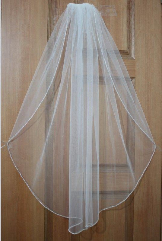 1 Tier Haut De Gamme Mariee Mariage Voile Cristal Swarovski Perle Bord Birde Veil Indian Wedding Lace Birdcage From Mywedding199