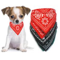 Wholesale Cat Pet Bandana - S5Q Adjustable Pet Dog Puppy Cat Neck Scarf Bandana With Collar Neckerchief New AAABAV