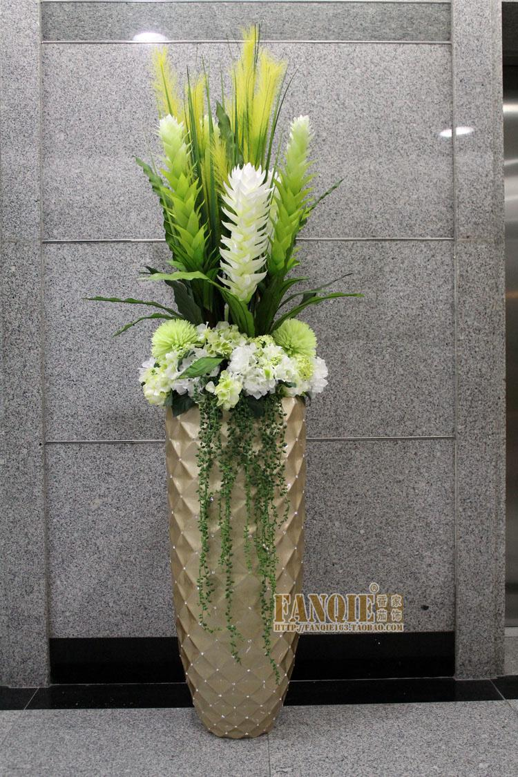 Fashion floor vase set artificial flower set flower soft fashion floor vase set artificial flower set flower soft decoration flower receptacle rhinestone glass stone vase sticks vase white from auergle reviewsmspy