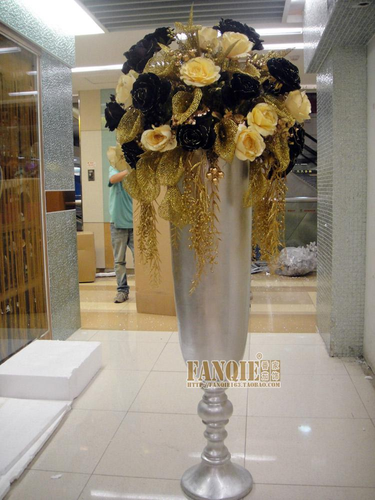 Large Floor Vase Set Modern Fashion Stair Flower Decoration Quality