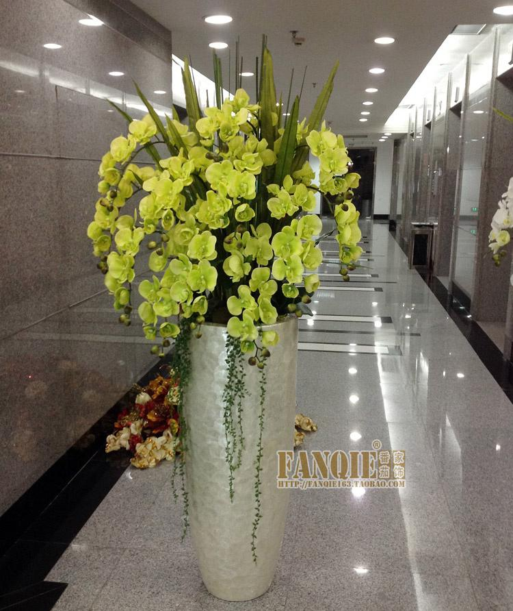 Large floor vase set modern flower receptacle set fashion for Floor vase with flowers