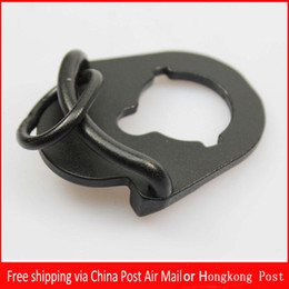 Wholesale Airsoft Aeg M4 - Hot Brand New Building fire ambidextrous sling attachment point plate mount M4 AEG Airsoft Accessories Free shipping