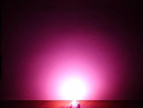 diodo levou rosa de alta potência de 1W para planta 30-40lm luz