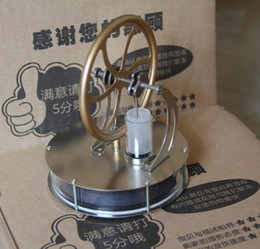 Discount free education for children - New Arrival Low Temperature ST-007 Stirling Engine Creative Kit Toys for Education Toy  Ornament   Children Gifts Free S