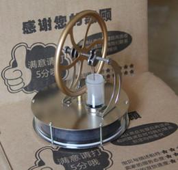 2019 esperimenti automobilistici Nuovo arrivo a bassa temperatura ST-007 Stirling Engine Kit creativo Giocattoli per l'istruzione Giocattolo / Ornamento / Regali per bambini Spedizione gratuita