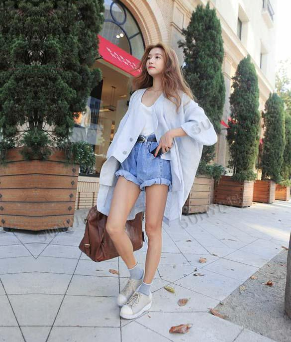 2017 Summer Fashion Women's Lady's High Waisted Loose Hot S Jeans ...