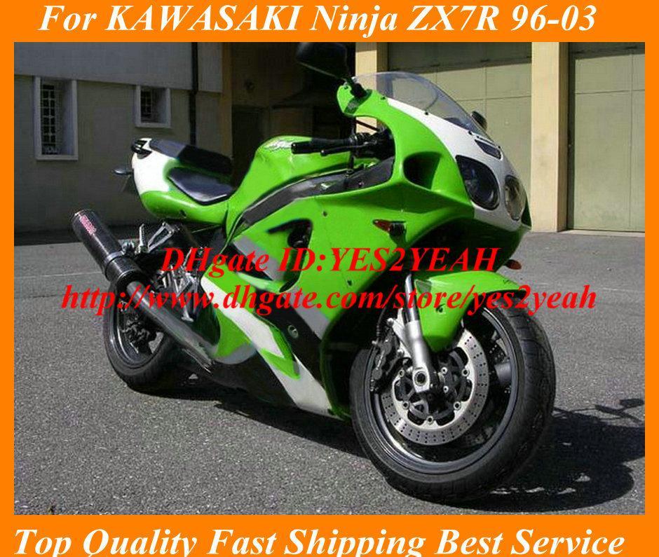 fairing kit for kawasaki ninja zx-7r zx7r 1996 2003 zx 7r 96 97 99