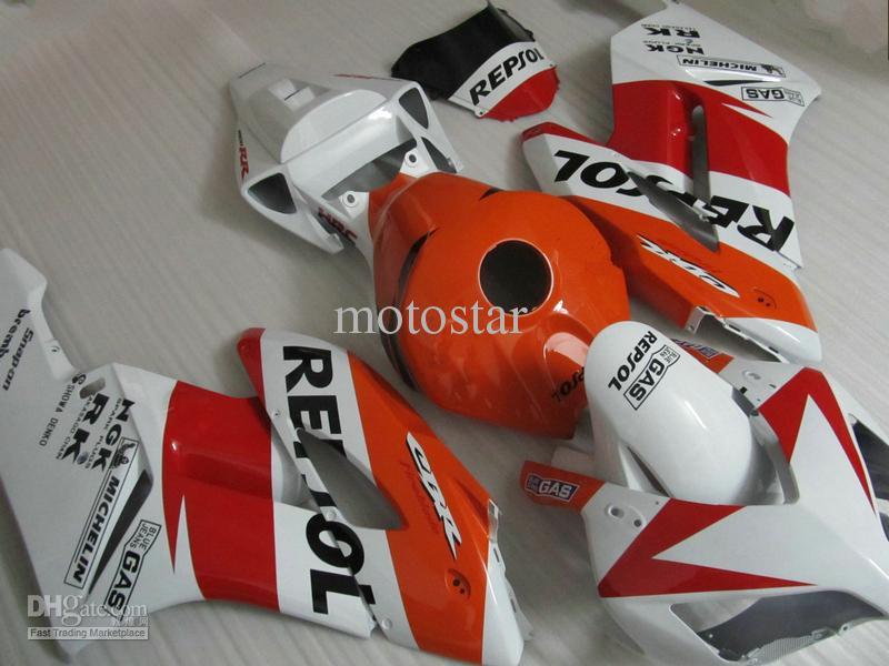 White ornage red REPSOL Injection mold ABS Fairings for HONDA CBR1000RR 2004 2005 CBR1000 RR CBR 1000RR 04 05 bodywork fairing