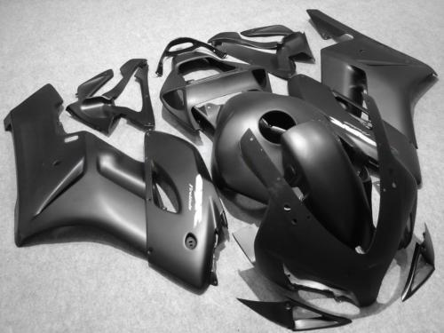 ALL FLAT BLACK 인젝션 ABS 페어링 키트 혼다 용 CBR1000RR 2004 2005 CBR1000 RR CBR 1000 RR 04 05 7 회용 페어링