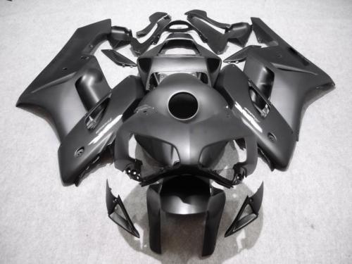 ALL FLAT BLACK Kit de Carenagem ABS para Injecção Para HONDA CBR1000RR 2004 2005 CBR1000 RR CBR 1000 RR 04 05 carenagem com 7 compartimentos