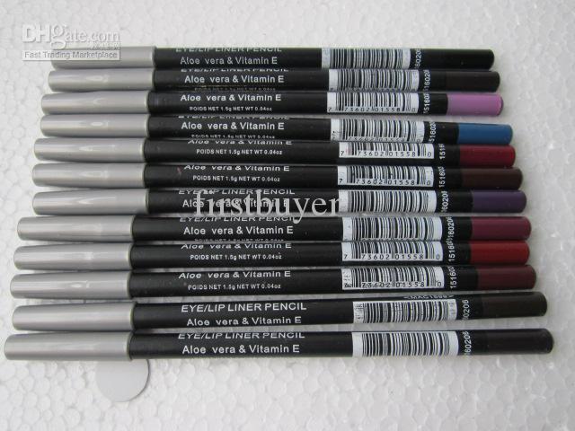 Crayon à sourcils oeil / crayon à lèvres maquillage gratuit 1.5g