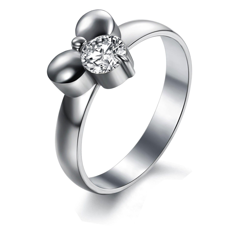 wedding rings swiss diamond tg01 ms titanium steel rings