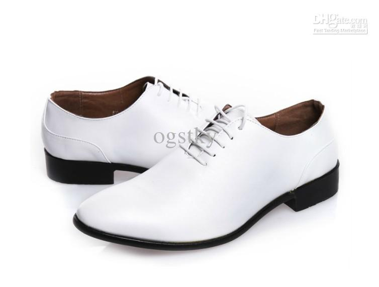 Black And White Formal Shoes Mens