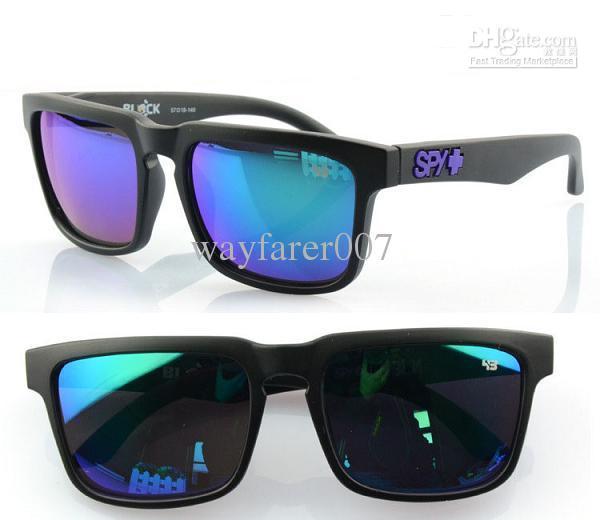 3115f16836 SPY OPTIC + KEN BLOCK HELM 43 Sunglasses SPYOPTIC Outdoor Cycling Sun  Glasses Come With Box Cheap Discount Matt Black Frame Blue Lens Heart  Sunglasses ...