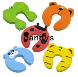Free shipping 60pcs lot,Cartoon animals big ears door stop, Best-selling