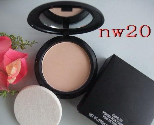 Nova Maquiagem Mineralize SkinFinish Poudre de Fundação Fundação Face Em Pó Fix / lote NW / NC
