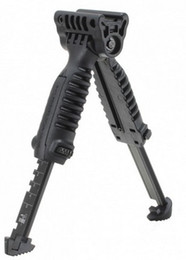 Wholesale Rifle Pod - Tactical T-Pod Vertical Grip with Bipod For Police Picatinny Rifle Mount